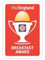 Breakfast award for guest house York
